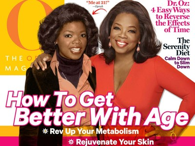 Oprah with younger self