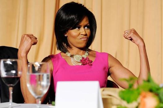 Michelle-Flexing