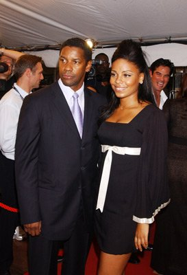 Denzel and Sanaa.
